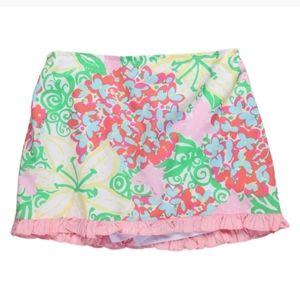 Lilly Pulitzer Butterfly and Flower Skort